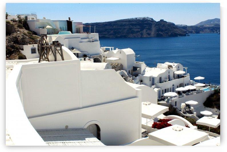 Santorini Landscape - Greece by Bentivoglio Photography