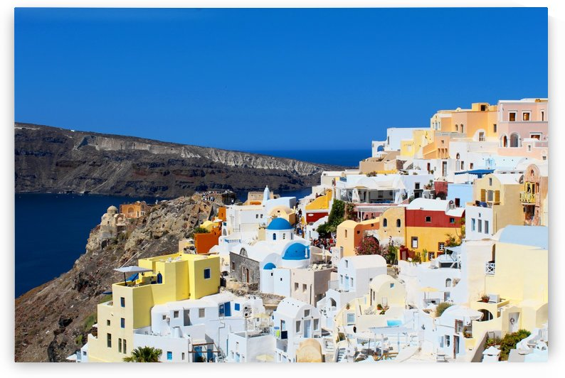 Santorini Landscape - Greece by Bentivoglio Photography