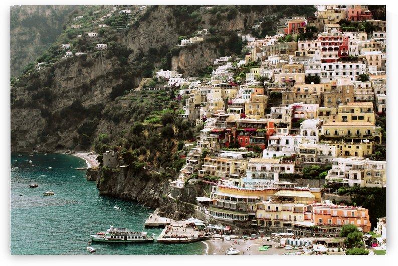 Positano Beach Landscape - Italy by Bentivoglio Photography