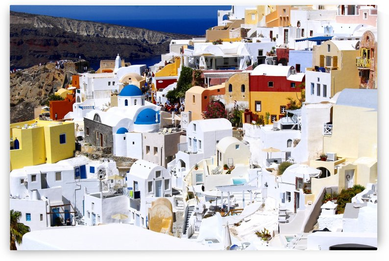 Colours of Santorini by Bentivoglio Photography