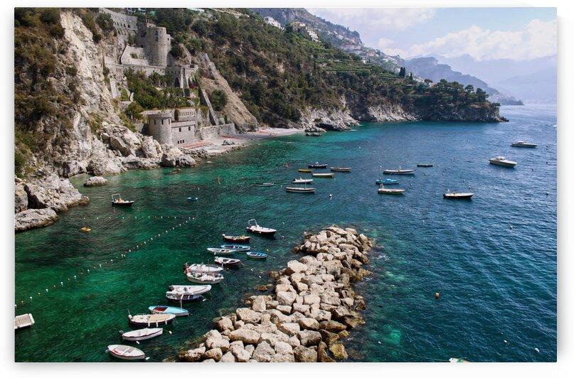 Amalfi Coast - Conca dei Marini Beach - Italy by Bentivoglio Photography