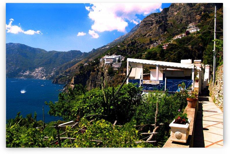 Amalfi Coast Landscape - Italy by Bentivoglio Photography
