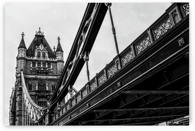 Tower Bridge Close up - London - Uk by Bentivoglio Photography
