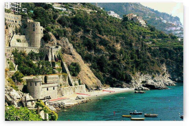 Amalfi Coast Beach - Italy by Bentivoglio Photography