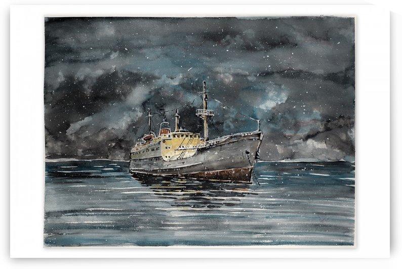 Winter Achorage by Dalmatinac