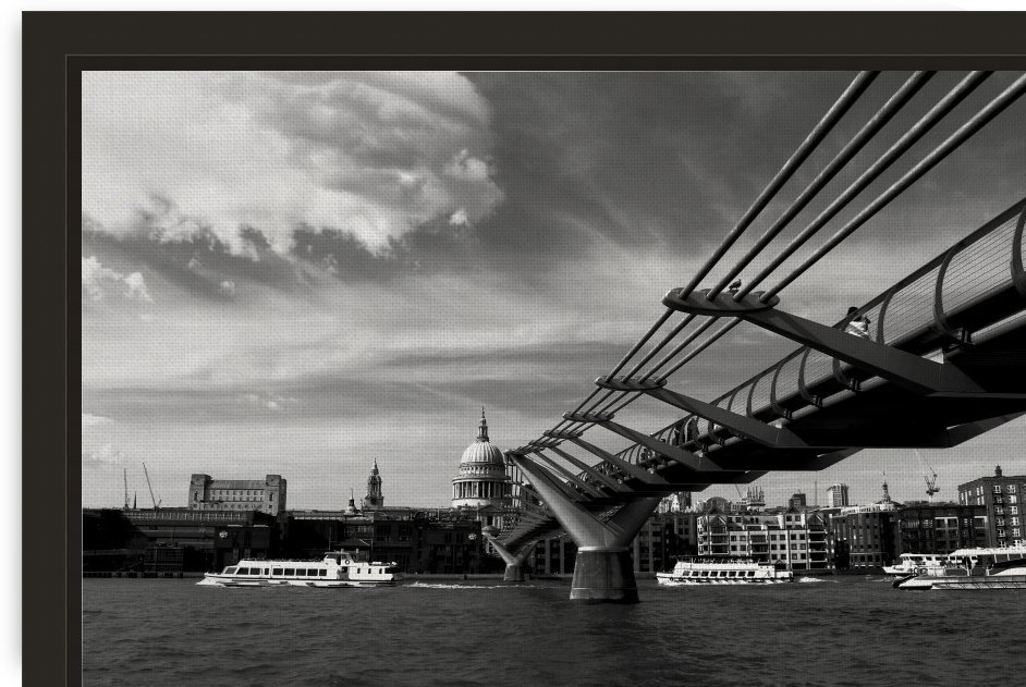 London Skyline -St Pauls Cathedral by Bentivoglio Photography