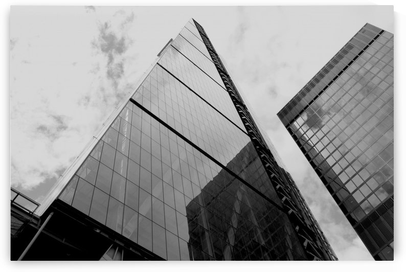 London Skyscraper III - Black and White by Bentivoglio Photography