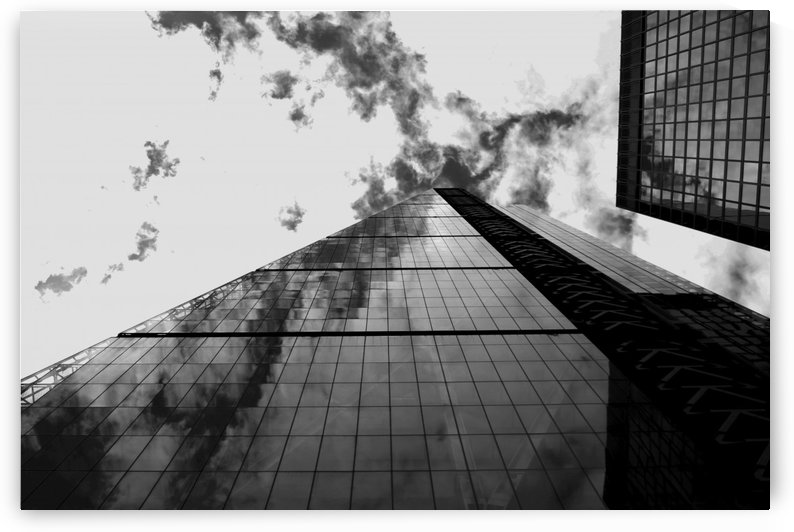 London Skyscraper  - Black and White by Bentivoglio Photography