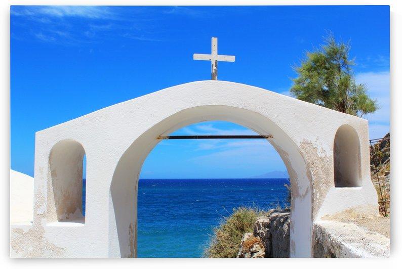 The Arch - Santorini Island by Bentivoglio Photography