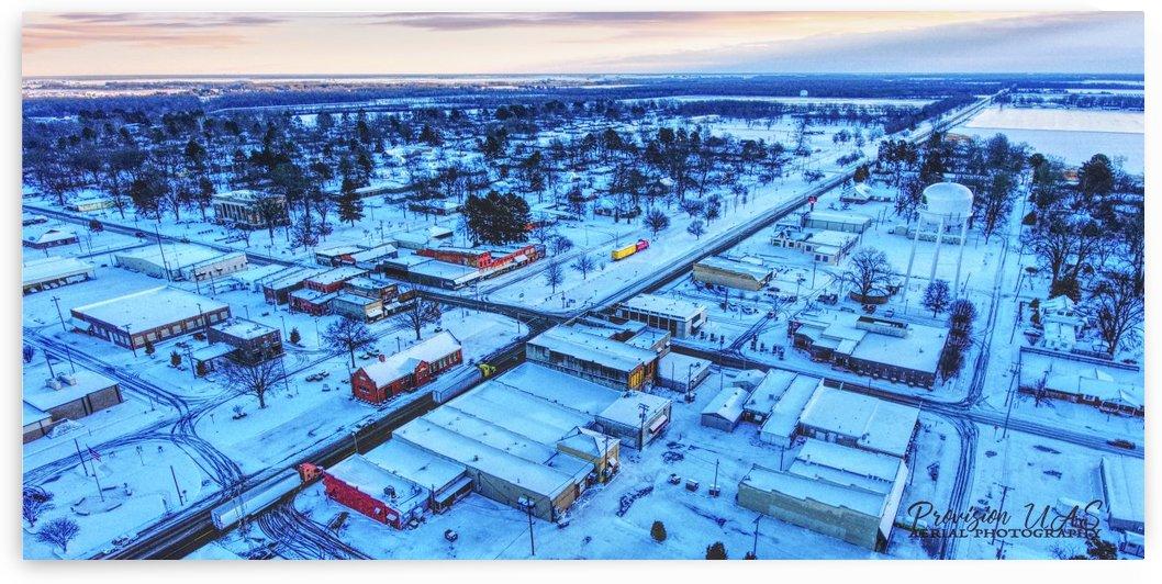 Lonoke, AR | Snowday! by Provision UAS