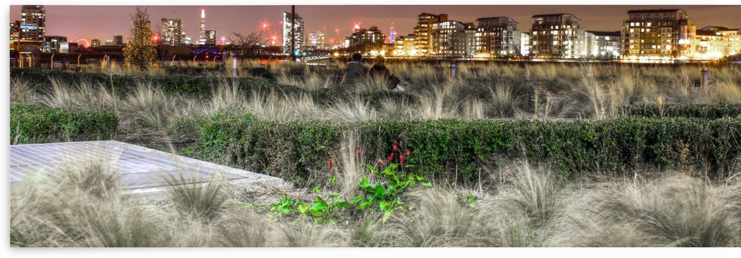 London Night Skyline by Bentivoglio Photography