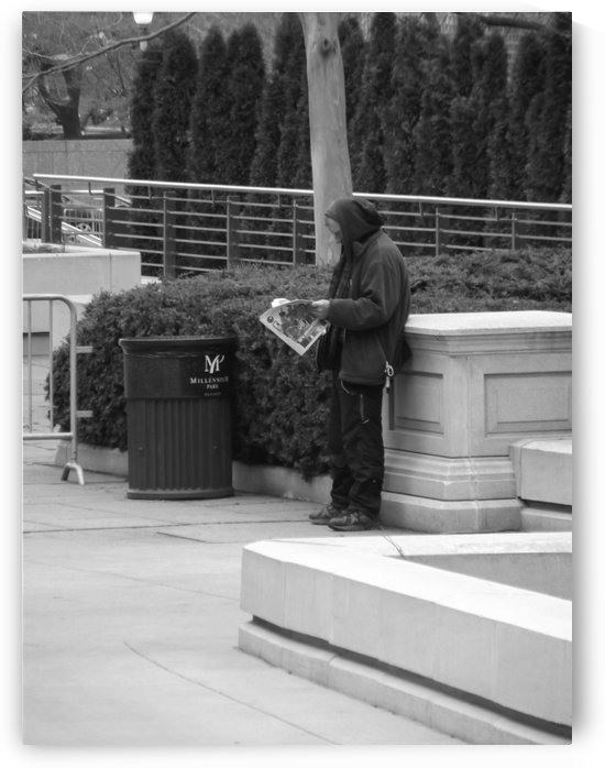 CATCHING UP ON THE DAILY NEWS by CARLEEN CLIFTON BRAGG