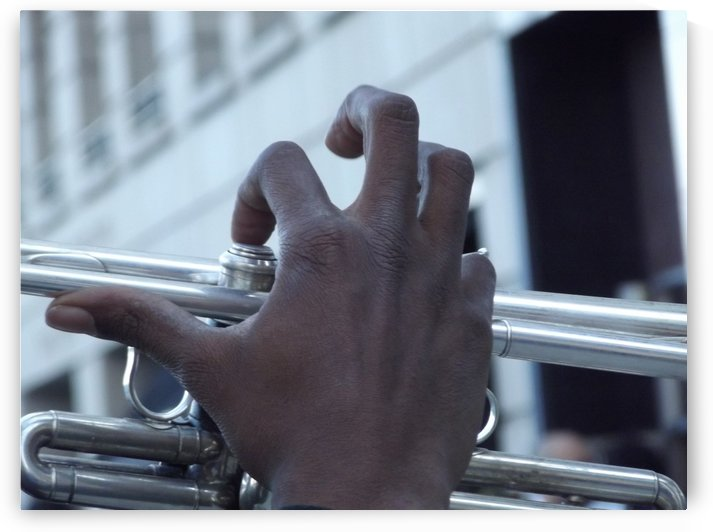 TRUMPET FINGERS by CARLEEN CLIFTON BRAGG