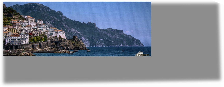 Panoramic Amalfi Coast by Bentivoglio Photography