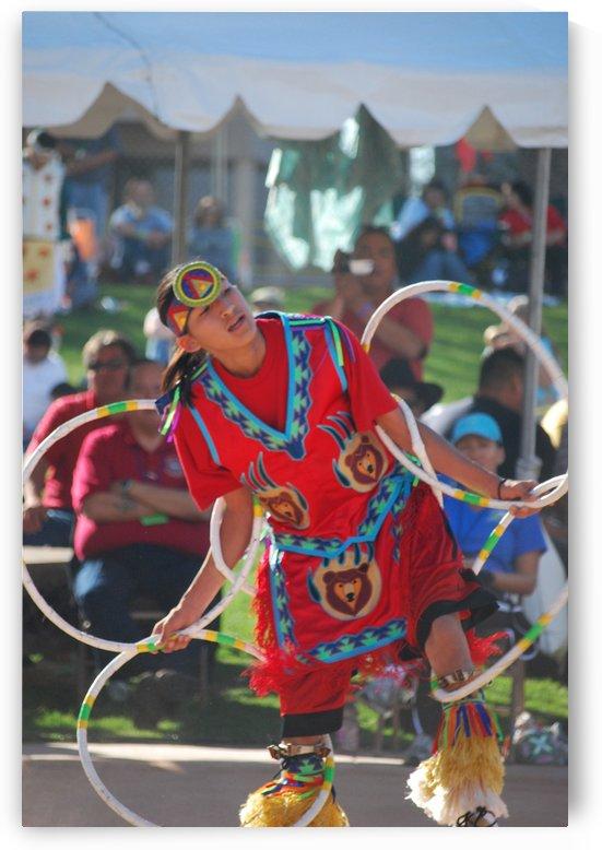 Native American hoop dance championship 2008 by Darryl Green