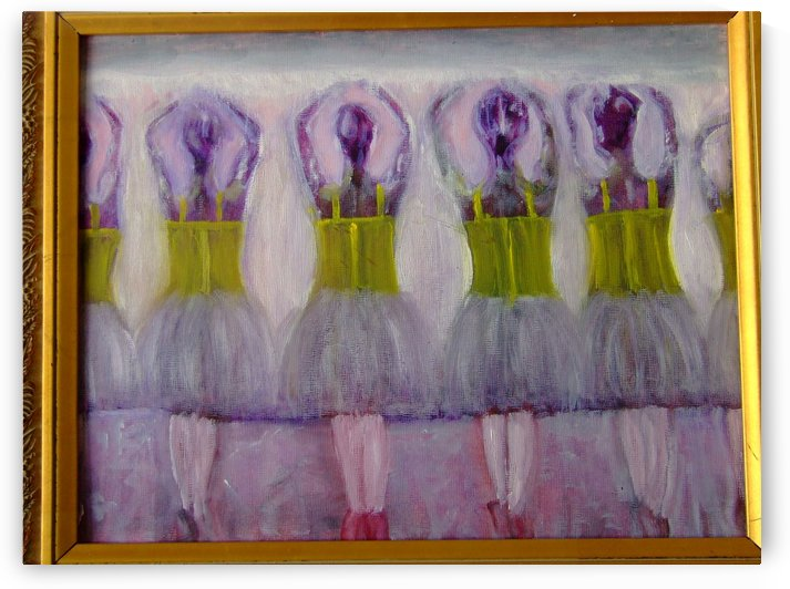 Young Ballet Students by Darryl Green