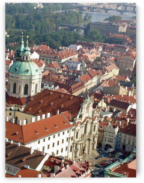 Looking Down on Prague by Darryl Green