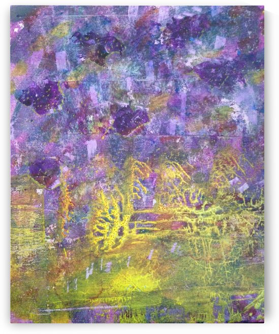 Another World Abstract painting by Darryl Green