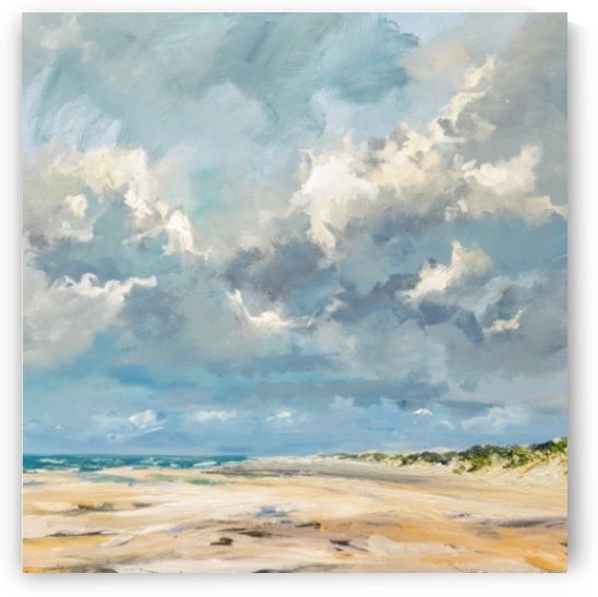 Beach Vrouwenpolder oil painting  by applygap