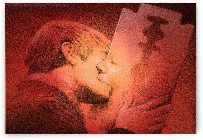 kiss by Pawel Kuczynski