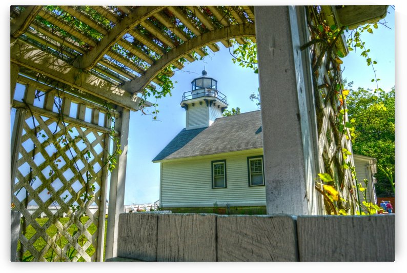 Old Mission Lighthouse by Paul Winterman