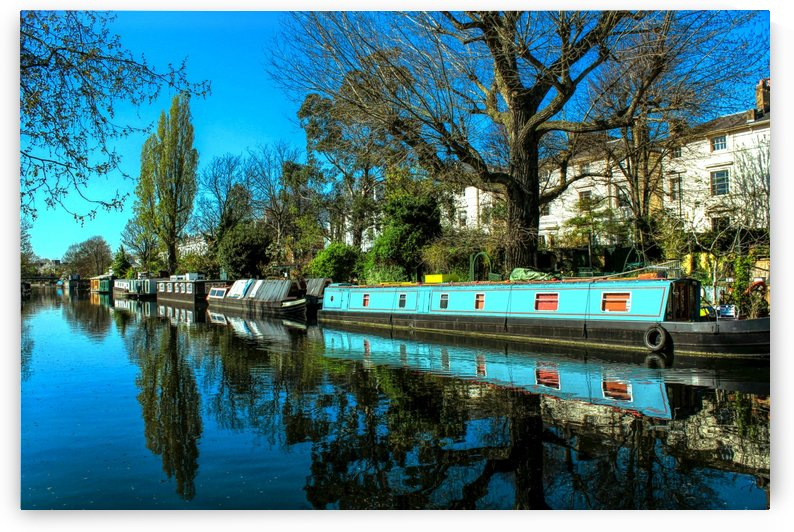 River and Boats - London  by Bentivoglio Photography