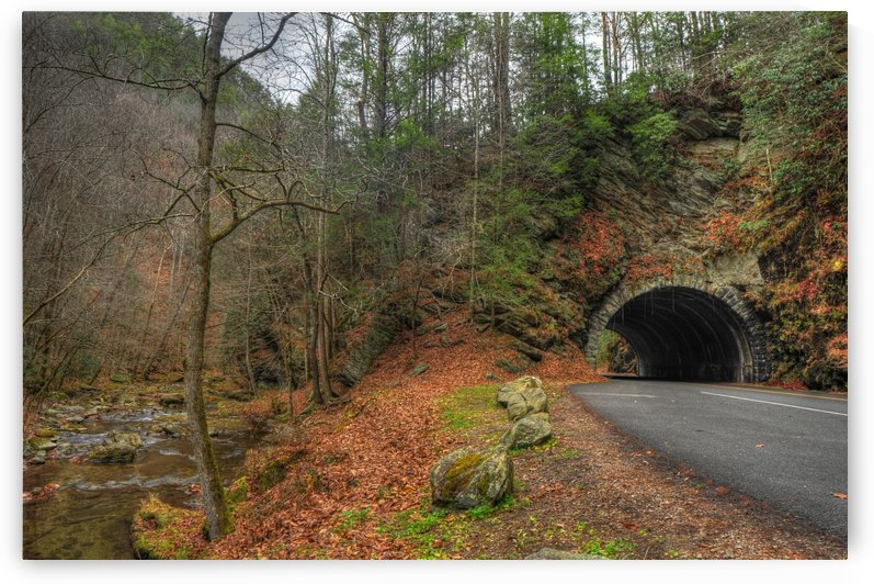 13- Cades Cove Tunnel by Paul Winterman