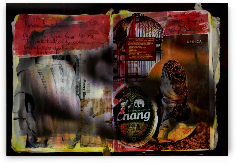 Collage Scrapbook 1 by D de G