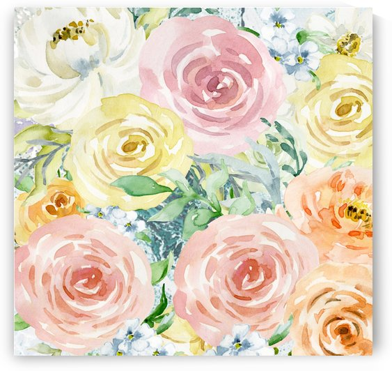pastel flowers 4 by cadinera