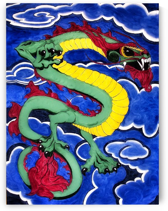 Dragon by Christine.The.Artist