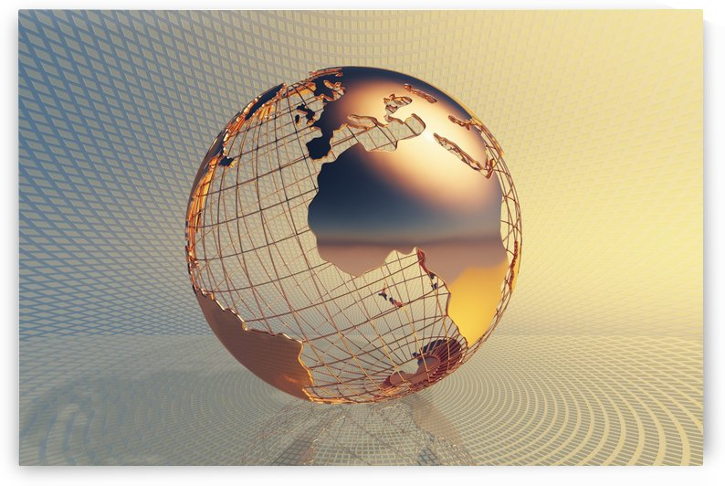 World global business background by Johan Swanepoel