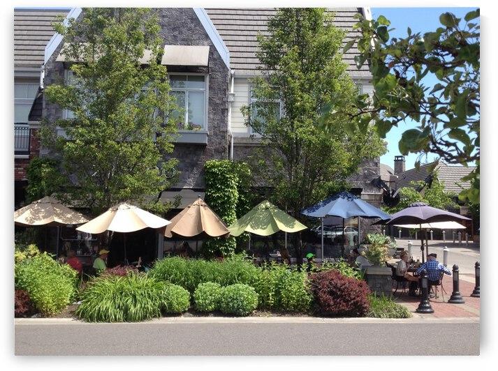 Lake Oswego Cafe by Robin Buckley