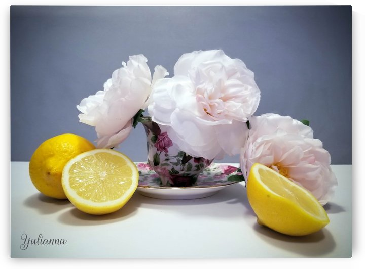 Lemon colour by Yuliya Marusina