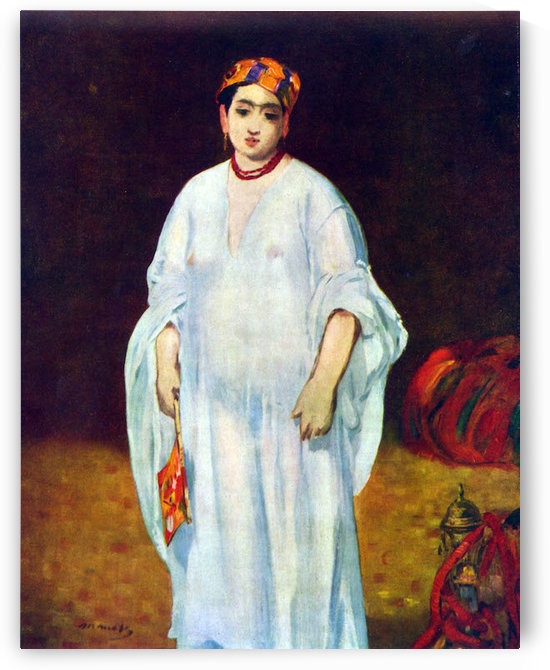 The Sultan by Manet by Manet