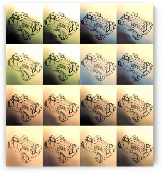 Toy Cars by Michael Trego