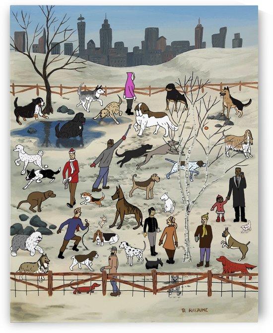Dog Park by Dave Rheaume