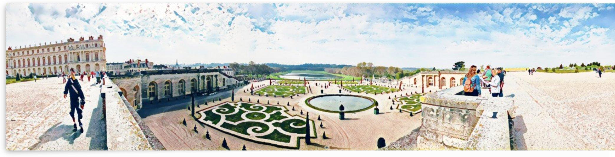 Versailles & Garden  by Jessica Toth