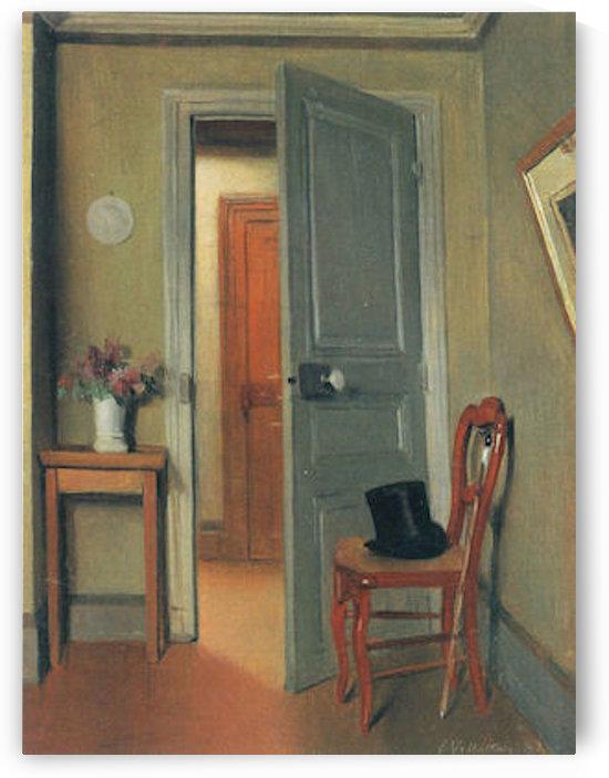 The visit -2- by Felix Vallotton by Felix Vallotton