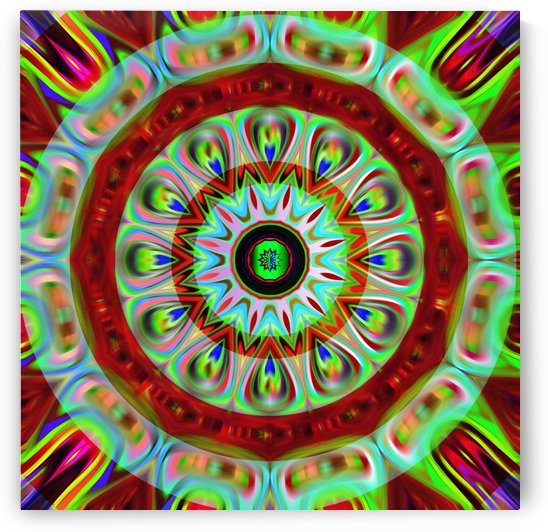 Mandala kaleidoscope by Rosa C