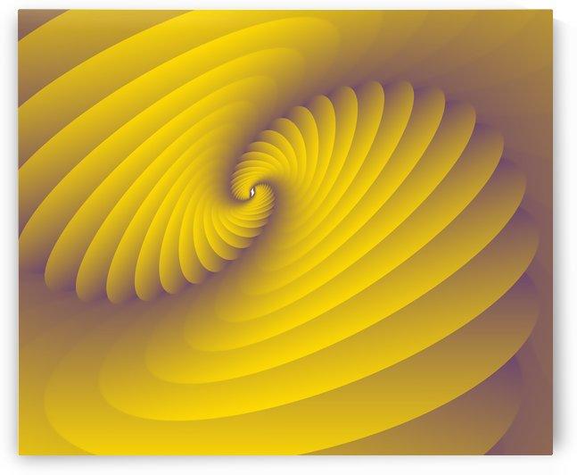 Yellowish Modern Art by rizu_designs
