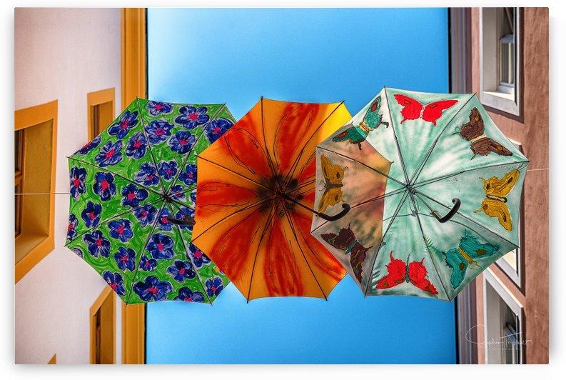 La ruelle des parapluies by Sophie Thibault