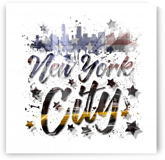 City-Art NYC Composing | Typography by Melanie Viola