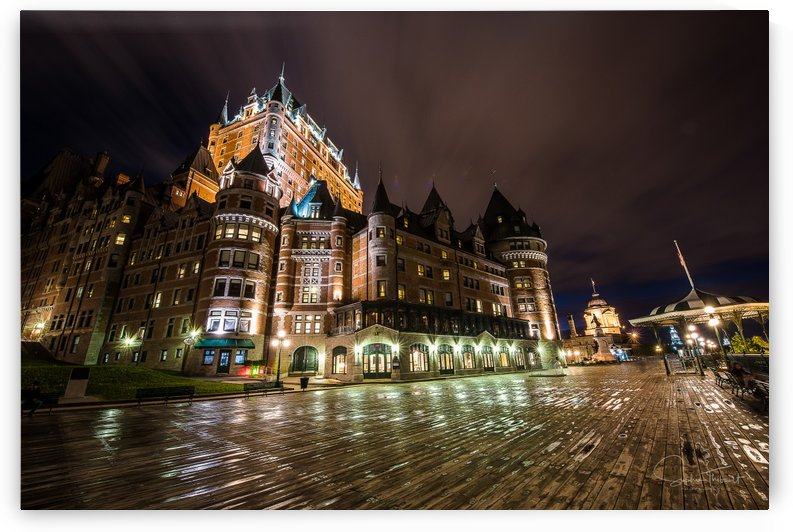 Château Frontenac after the rain by Sophie Thibault
