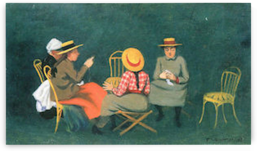 The women by Felix Vallotton by Felix Vallotton