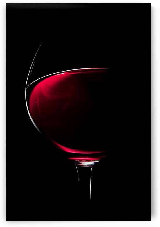 Red Wine by Johan Swanepoel