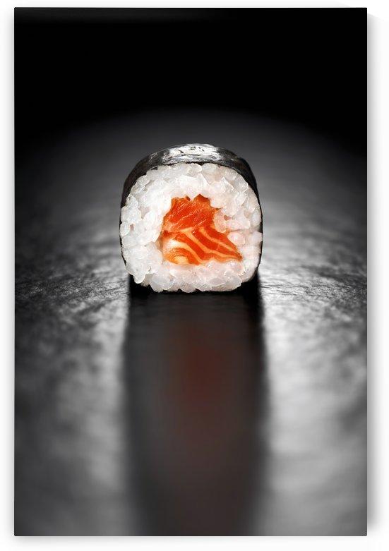 Maki Sushi Roll with Salmon by Johan Swanepoel