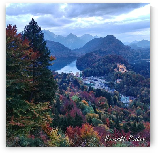 Schwangau Fall by Sourabh Bodas