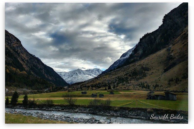 Alpine landscape by Sourabh Bodas
