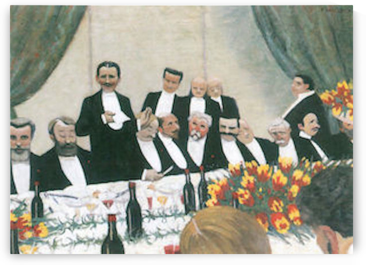 Toast by Felix Vallotton by Felix Vallotton