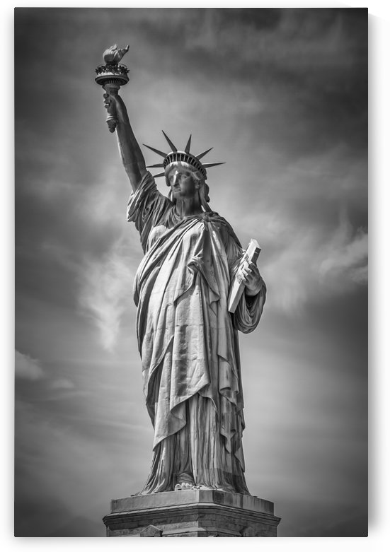 NEW YORK CITY Statue of Liberty by Melanie Viola